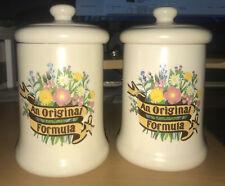 More details for vintage - an orginal formula by the boots co. ltd. - bath salts jar - set of 2