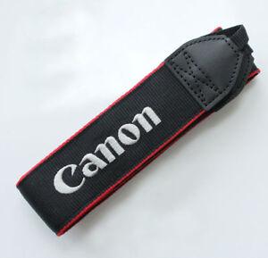 "Genuine Canon DSLR Camera Shoulder Neck Strap T3 T5 T6 T7  T3i T6i 1.25"" Wide"