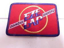 Diamond Eze Lap Bass Fishing Tournament Patch Vintage 80s 90s Hook Sharpener