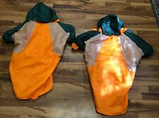 2 ZACK & ZOEY DOG COATS WITH DETACHABLE HOODS BOTH SIZE XXL VERY GOOD COND