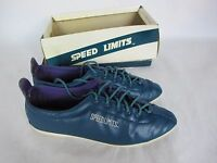 Vintage Speed Limits Hip Womens Athletic Shoes Blue Purple Sole Retro Size 8