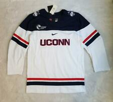 Men's Nike NCAA UConn Huskies Replica Team Hockey Jersey White