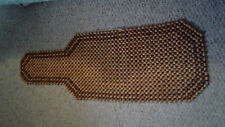 Wood Beaded Massage and cooling seat cover for your car or office chair.