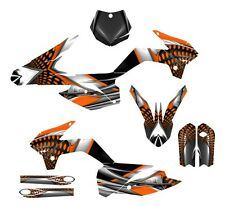 KTM SX 85 graphics 2013 2014 2015 2016 2017 custom decal kit #7777 Orange