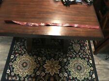 Women's Red Vintage Waist Belt Size Small