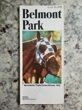 Belmont Horse Racing Programs from 1972 1973 and 1974 NYRA ***You Choose***