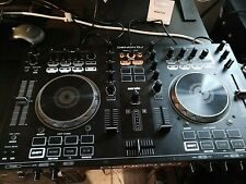 Denon DJ MC4000 DJ Controller, serato, and flying case, 2channel mixer