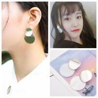 Shell Earrings Fashion Earrings for Women 2018 Shell Round Disc Drop Earrings