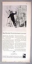 Head Ski Equipment PRINT AD - 1966 ~~ skis, skiing