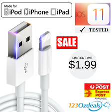 High Quality Lightning Data Cable Phone Charger for iPhone 5 6 7 8 Plus, X iPad