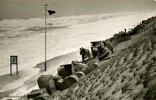 AK Hörnum Sylt 1956 Sturmflut am 30.06.1956 Strandkörbe Menschen
