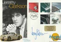 1 OCTOBER 1996 CLASSIC SPORTS CARS FDC HAND SIGNED BY JEREMY CLARKSON SHS