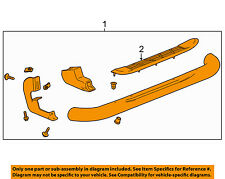 GM OEM Running Board-Step Bar Assembly 19213582