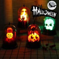 Halloween Pumpkin Light Castle LED Hanging Lantern Lamp Home Party Decoration ☀