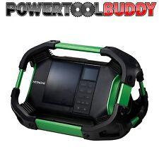 Hitachi UR 18 DSDL DAB Bluetooth job site radio secteur ou batterie alimenté