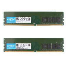 Crucial 16GB 2X 8GB DDR4 2400T PC4-19200 2400MHz Desktop Memory RAM UDIMM @KM