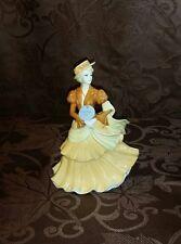 COALPORT Sentiments Figurine SPECIAL OCCASION 2005 Lady Woman Fancy Dress EUC