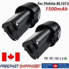 2x 1.5AH 10.8V/12V Li-ion Battery For Makita BL1013 BL1014 194550-6 194551-4  CA
