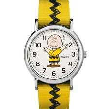 Timex Kidz Analogue Unisex Peanuts Charlie Brown TW2R411006B