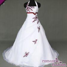 ♥ vestido de novia, vestido de bodas en blanco Tamaño 34-54 para la selección + nuevo + inmediatamente +w067 ♥