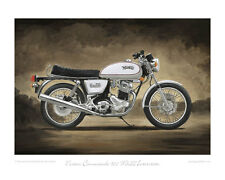 Motorcycle Limited Edition Print - Norton Commando Mk3 - Classic Bike Poster