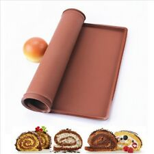 Silicone Rice Sushi Roll Mat Non-Stick Cake Swiss Pad Oven Liner Mat Baking Tool