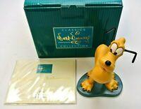 Walt Disney Classics Collection (WDCC) - Perfect Patient - Pluto Figurine + COA