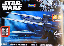 Revell STAR WARS 1/100 Rebel U-Wing Fighter Rogue One 851637 Snap Plastic Kit