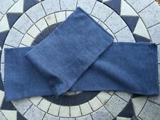 12  New vintage blue wool scarfs/hats army military surplus surplus clothing mod
