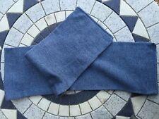 3 New. vintage blue wool scarfs/hats army military surplus surplus clothing mod