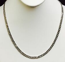"""14KT Solid Gold Miami Cuban Curb Link 22"""" 5  mm 30 grams chain/Necklace WMC150"""
