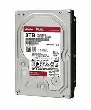 """Western Digital WD Red 8TB 3.5"""" SATA Internal NAS Hard Drive HDD WD80EFAX"""