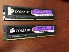 Corsair XMS2 4GB (2x2GB) PC2-6400 800Mhz DDR2 RAM Memory CM2X2048-6400C5 (B05)