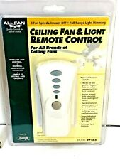 NEW Hunter ALLFAN Ceiling Fan & Light Universal Remote Control Kit 27185