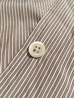 Margaret Howell Minimal Shirt, Stripe, Poplin, XS, Made in England!