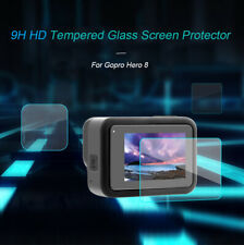 Tempered Glass Screen Protector Guard Cover Camera Accessories For Go-pro Hero 8