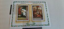 Dominica 1972 Christmas Stamps  Miniature Sheet