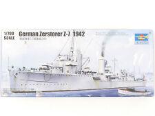 Trumpeter 05793 Deutscher Zerstörer Z-7 1942 Kit 1/700 NEU! OVP 1607-13-99