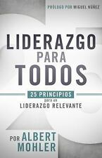 UN LFDER DE CONVICCIONES / A LEADER OF CONVICTIONS - MOHLER, AL - NEW BOOK