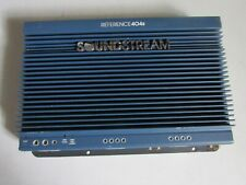 Old School Soundstream Reference 404S 4 Channel Amp