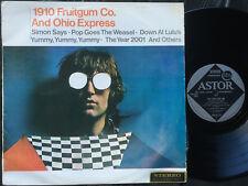 1910 FRUITGUM CO. & OHIO EXPRESS Ultrarare 1968 Aussie BUBBLEGUM LP Release! EX