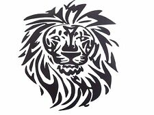 vinyl lion 5.65 x 8.54 in decal for your car,home 12 colors available