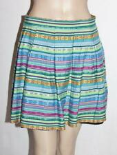 TALULAH Designer Multi Print Hobo Pleated Full Skirt Size S/M BNWT #ST93