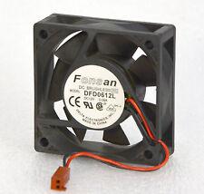 CASE FAN FONSAN DFD0612L 60x60x20mm CISCO 2503 2-WIRE 2-PIN  DELTA LÜFTER  O345
