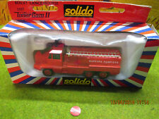 Solido Toner Gam II Pompier Berliet Lance Mousse N°3107 en boite