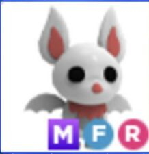 Mega Neon Albino Bat Fly Ride Adopt Me Roblox Free/W Purchase Of Picture