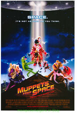 MUPPETS FROM SPACE MOVIE POSTER Original DS 27x40 KERMIT MISS PIGGY 1999