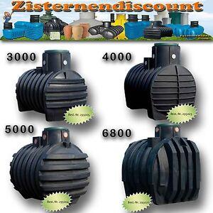 4Rain Regenwasser Kunststoff Zisterne Erdank Speicher