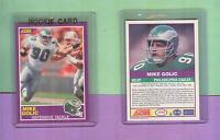 MIKE GOLIC EAGLES NOTRE DAME 1989 SCORE ROOKIE CARD #403S ESPN MIKE & MIKE