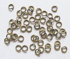 200  Antique Bronze Colour Jump Rings - 5mm